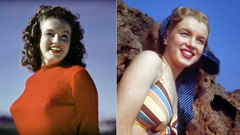 мэрилин монро фото до и после