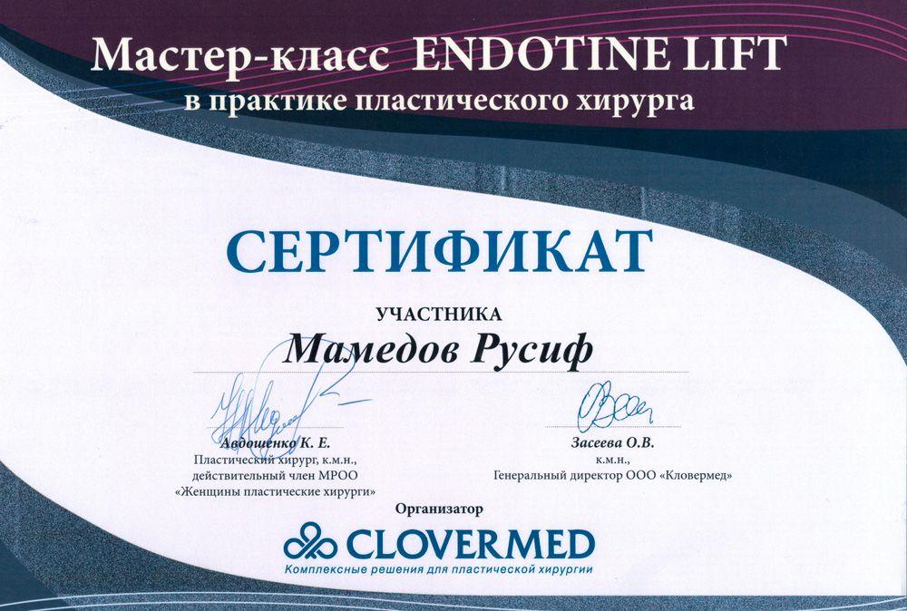 фото endotine