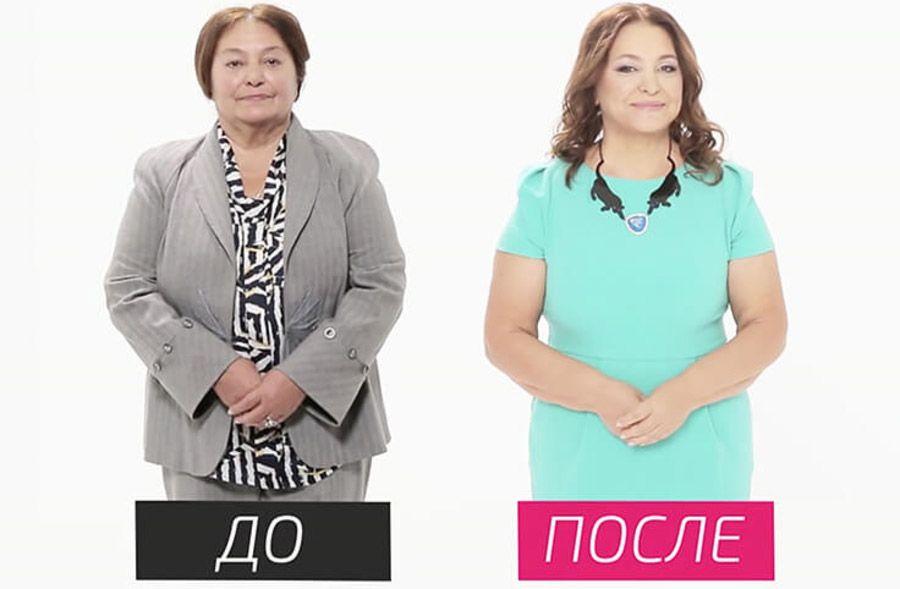 на 10 лет моложе Наталья Бондарчук